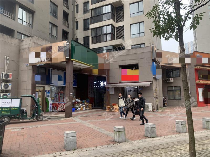 福元路万科城140㎡临街盈利中美发店转让(4大小区消费集中)