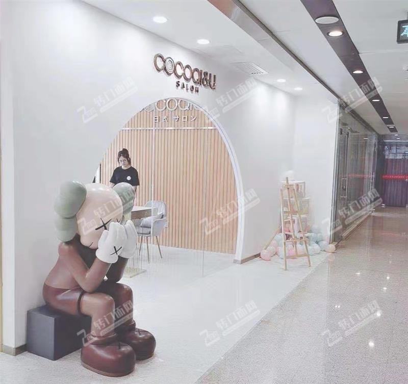 芙蓉中路大型购物中心写字楼300㎡精装美容院转让