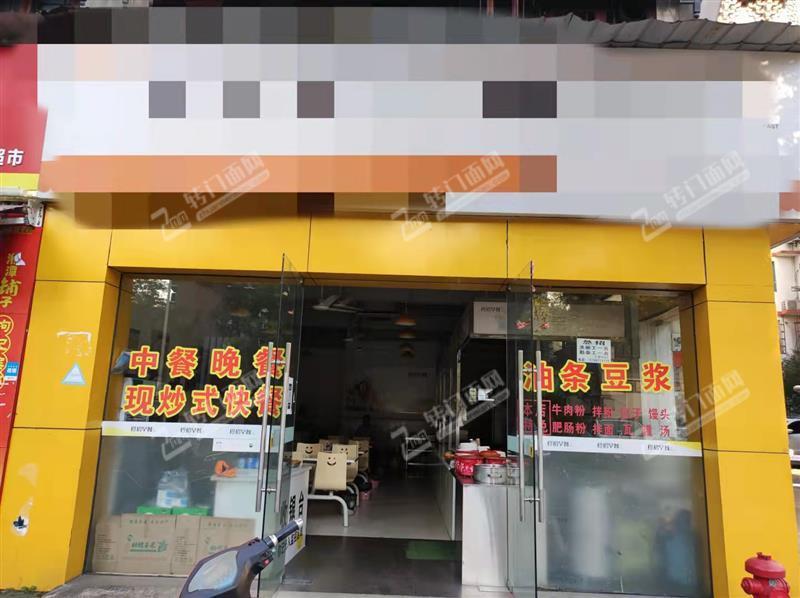 象湖公寓门口第一家店品牌早餐店转让